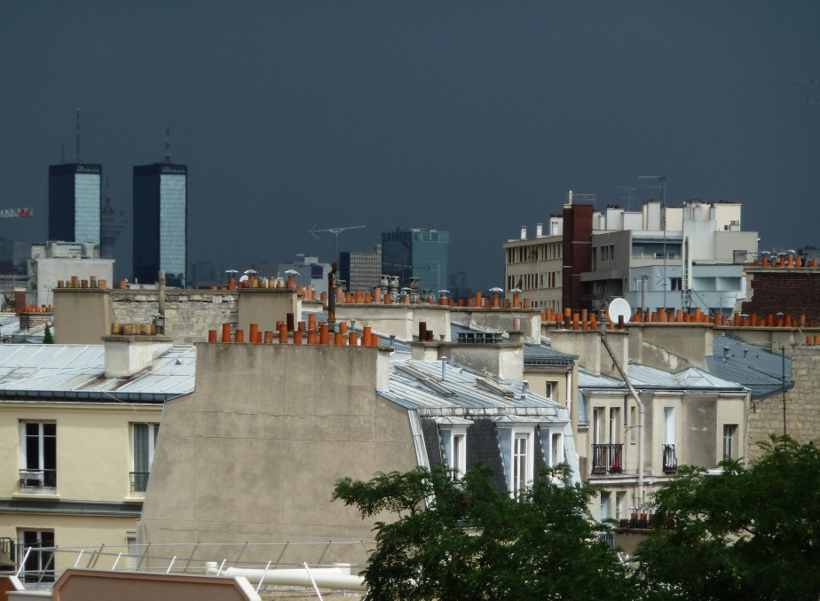 orage sur Paris