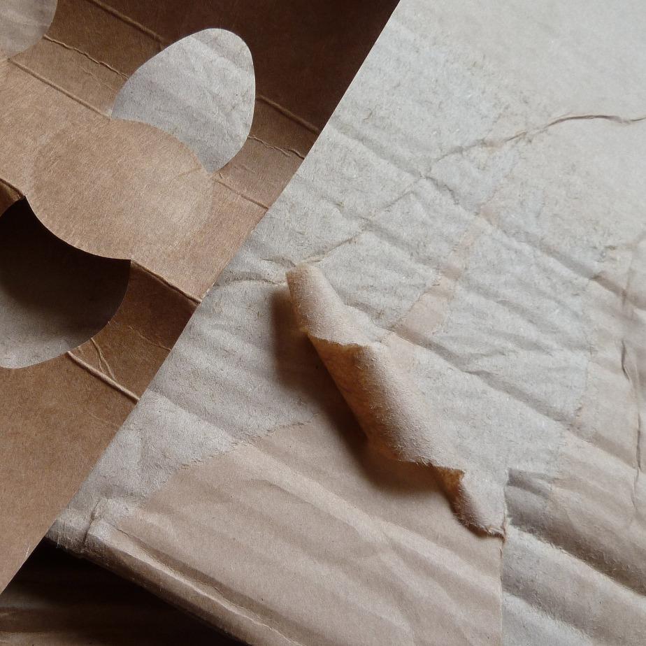carton ondulé et emballage de yaourts