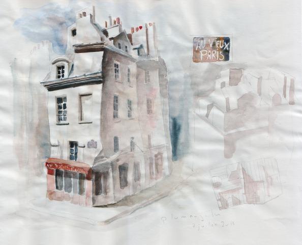 Vieux Paris d'après Eugène Atget