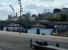 Quai de Bercy, pont de Tolbiac