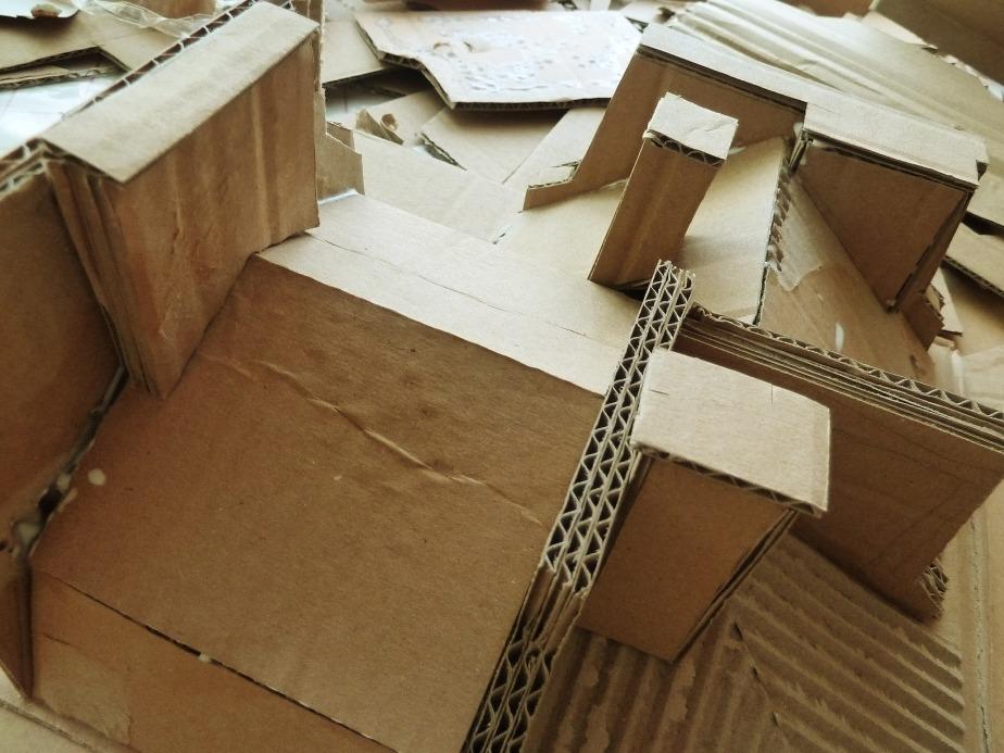 Toits #1 carton - en construction