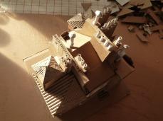 Vieux Paris #1, toits avec cheminées