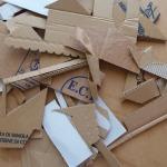 Bouts dedifférents  cartons