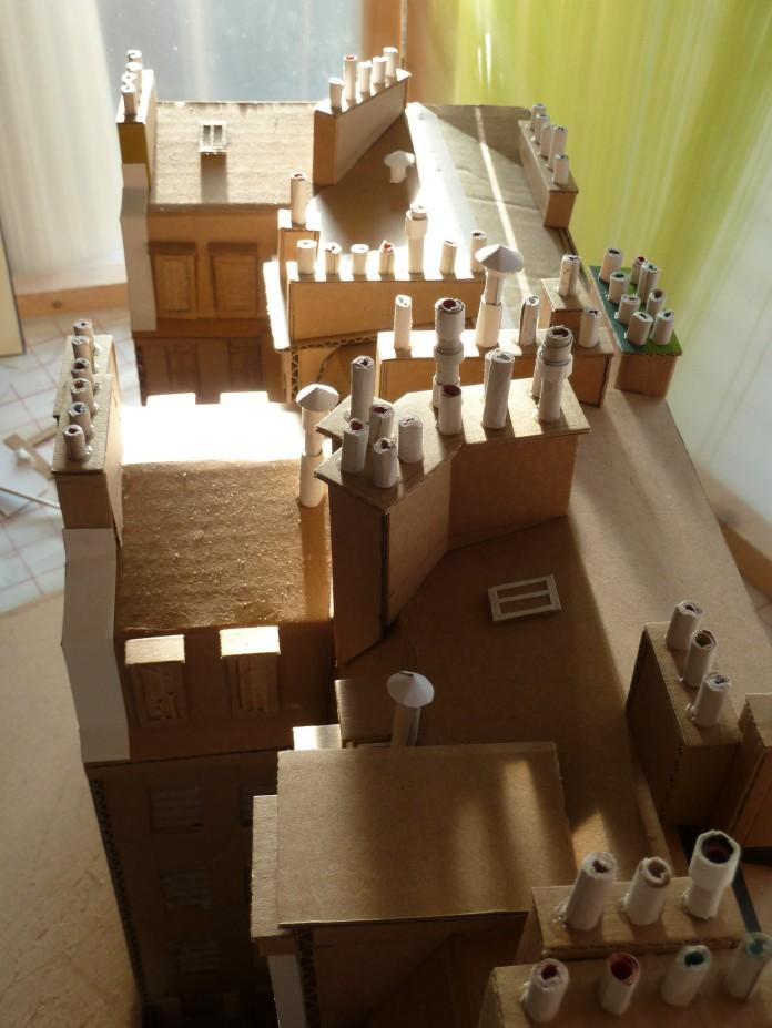 """Exemple de toit """"cheminesque"""""""