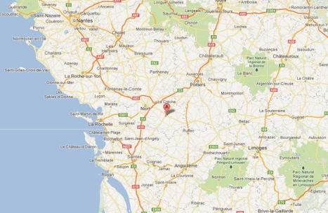 Entre Poitiers et La Rochelle
