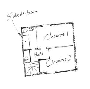 Décembre 2012 - plan de l'étage
