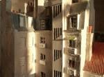 """Cage d'escalier droite de """"Petite ceinture, Paris 12ème"""""""