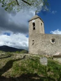 L'ancienne église de Saint-Vincent