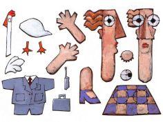 papiers découpés pour animation - la cinq