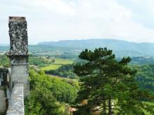Forcalquier - le Luberon vu de l'ancienne citadelle