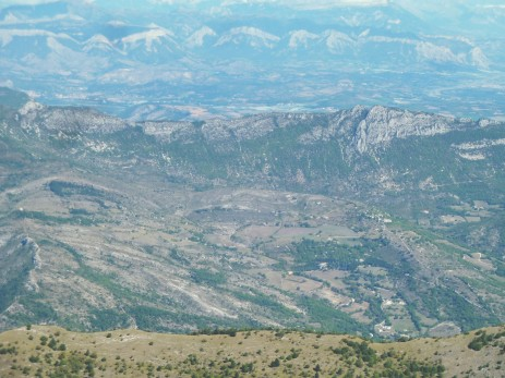 Vallée du Jabron depuis Lure