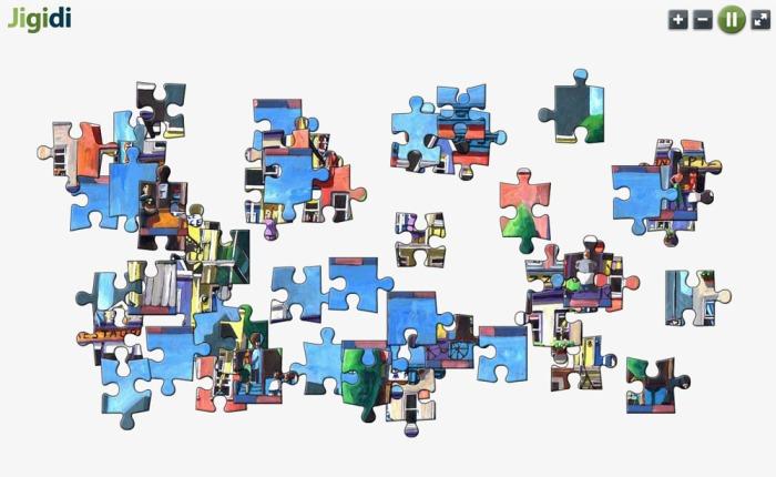 Capture d'écran Jigidi Puzzle