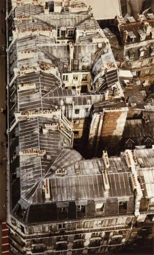Toits Paris 1950