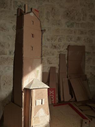 Maison Très Haute # 1 - construction