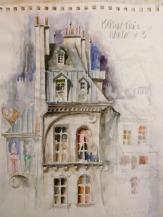 Jean-Marc Plumauzille - Esquisse Maison Très Haute #3
