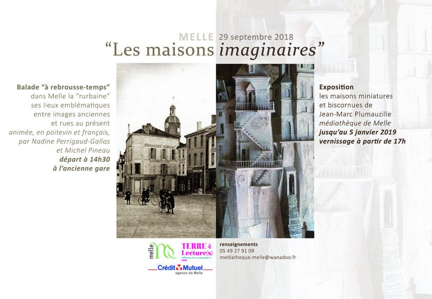 Exposition Médiathèque de Melle 2018