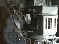 Baraque mobile de confinement © Jean-Marc Plumauzille