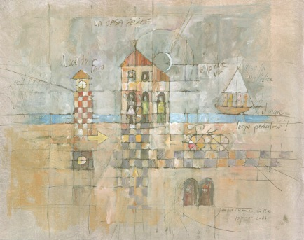 La Casa Felice, peintures 2021 © Jean-Marc Plumauzille