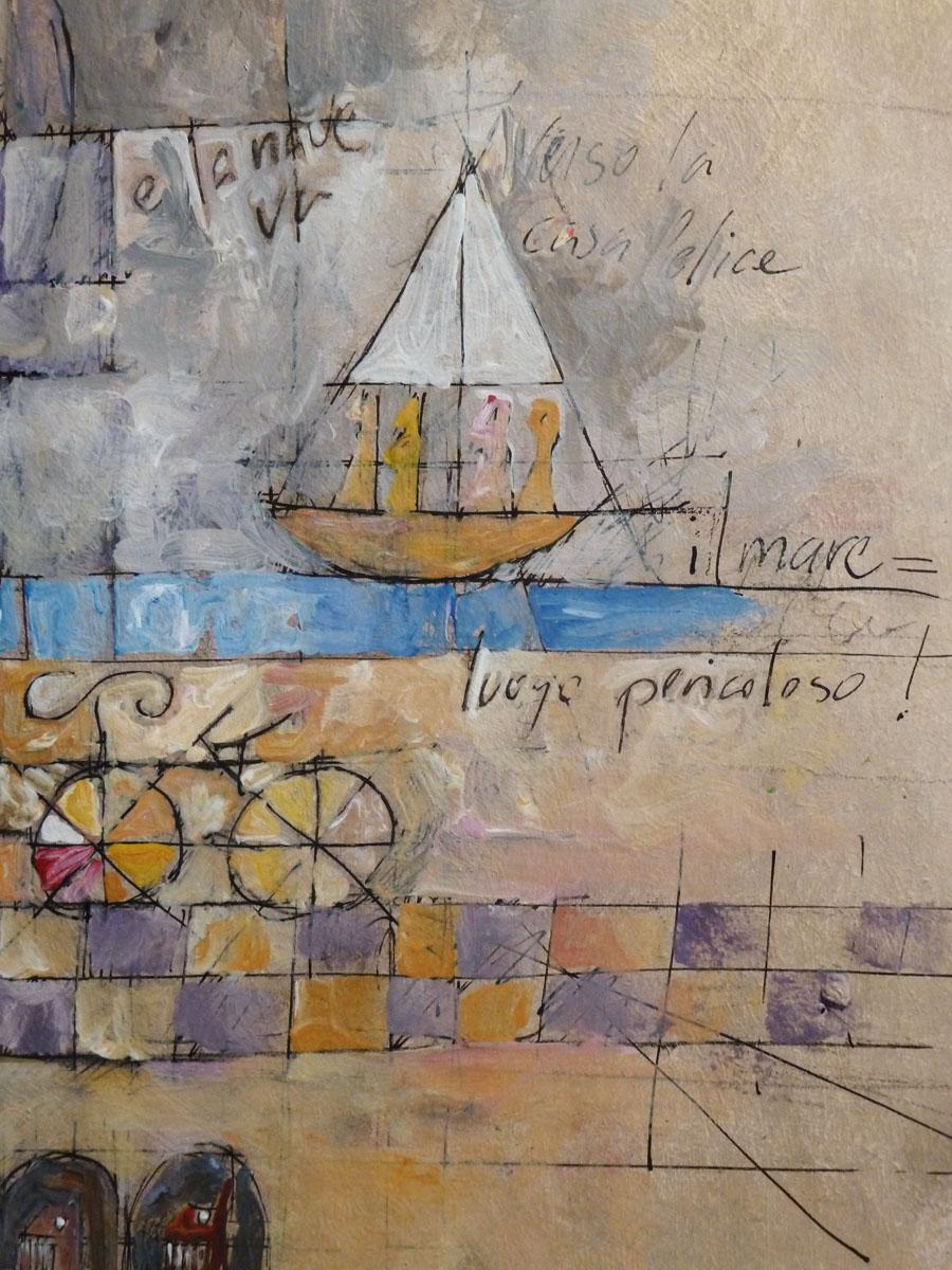 Le Case Felice, peintures 2021 © Jean-Marc Plumauzille